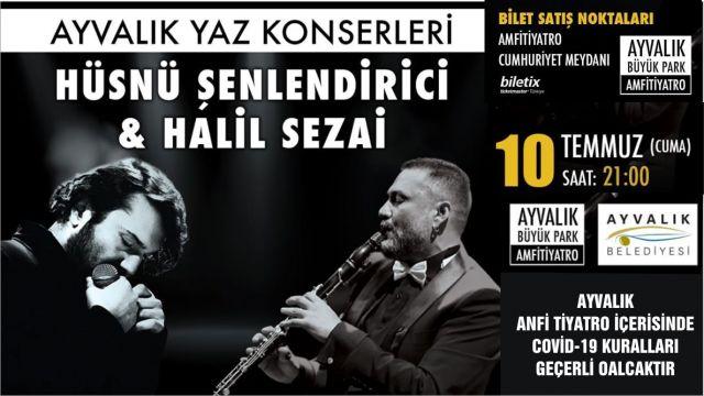 HÜSNÜ ŞENLENDİRİCİ & HALİL SEZAİ KONSERİ