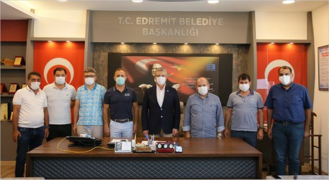 EDREMİT'TEN BASKETBOL' A TAM DESTEK