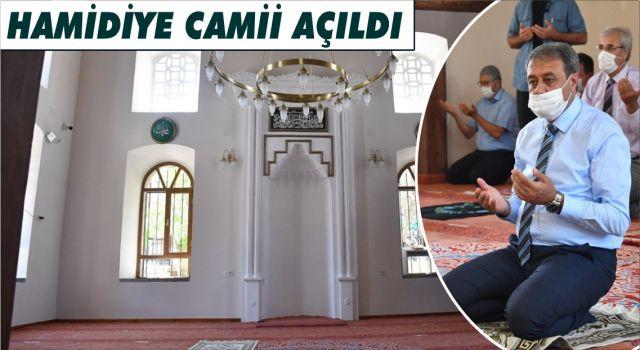 Restorasyonu Tamamlanan Hamidiye Camii Açıldı