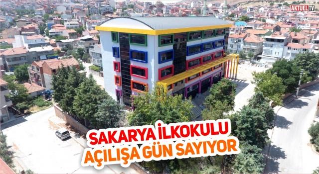 Sakarya İlkokulu yeni eğitim-öğretim yılına yetişecek