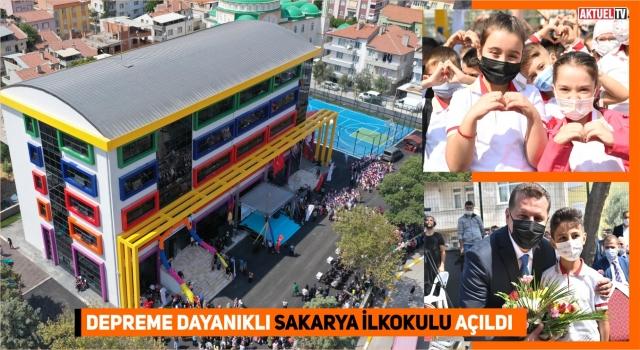 Balıkesir Büyükşehir Sakarya İlkokulunu açtı