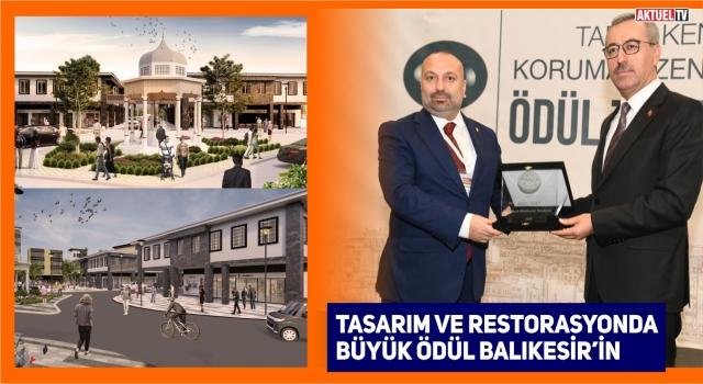 Büyükşehir'e Restorasyon ve Tasarım Ödülü