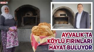 AYVALIK'TA KÖYLÜ FIRINLARI HAYAT BULUYOR