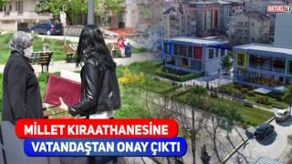 "SÜTLÜCE MİLLET KIRAATHANESİNE ""EVET"" DEDİ"