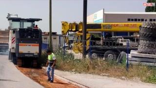 Büyükşehir 30 bin ton asfalt döküyor