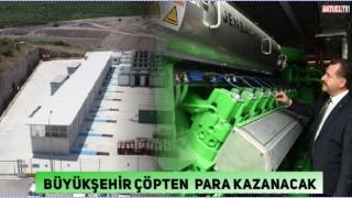 Balıkesir Büyükşehir,çöpten elektrik üretiyor
